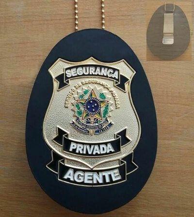 Distintivo segurança privada   Agente