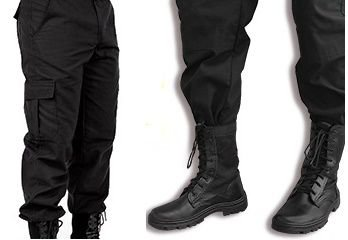 Kit Coturno com ziper mais a  calça tática rip stop Promoção