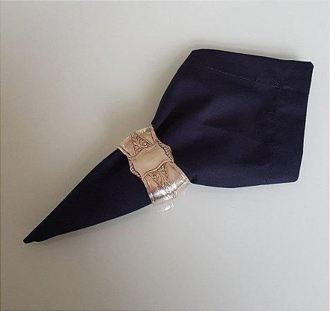 Guardanapo de tecido azul marinho