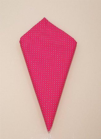 Guardanapo Pink com poás brancos
