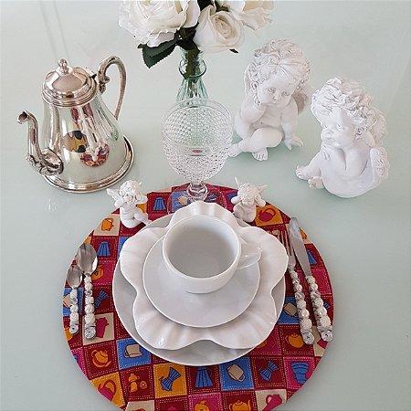 Capa Sousplat mosaico cozinhas