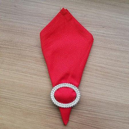 Guardanapo de tecido algodão 42cm vermelho