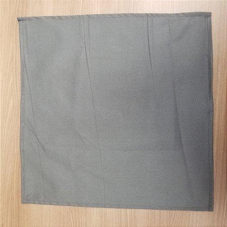 Guardanapo de tecido 42cm cinza