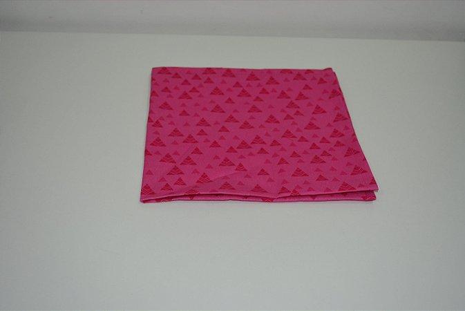 guardanapo fundo rosa