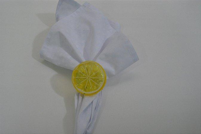 Porta guardanapo amarelo