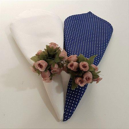 Kit 2 Porta guardanapos flores