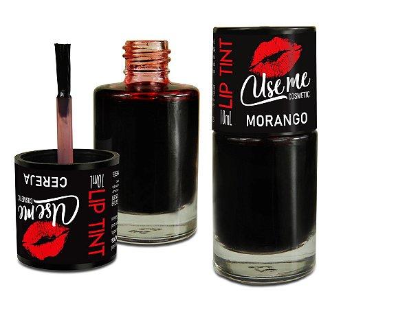 Lip tint Morango - batom líquido - Use me Cosmetic