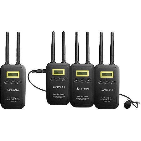 Saramonic VmicLink5 Três Microfones SHF