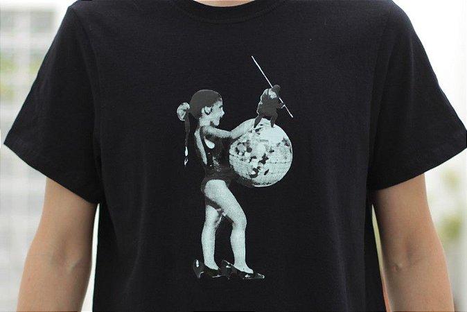 Camiseta Derivacivilização - Ian Ramil - Menina e Mundo