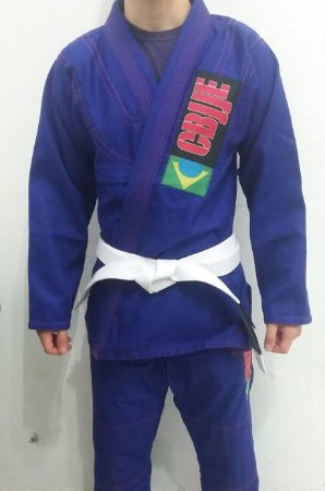 Kimono CBJJE (Azul)