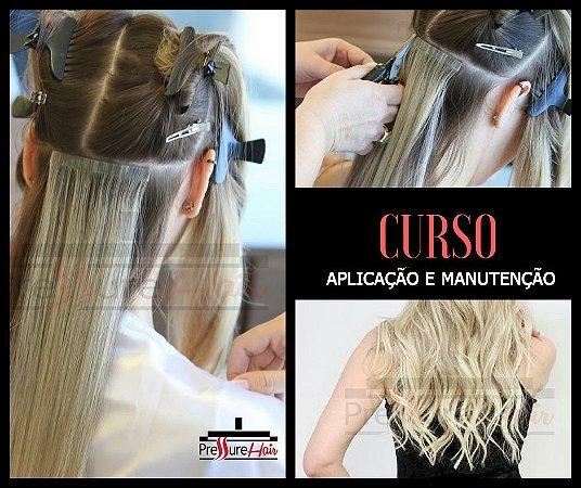 Curso de Aplicação e Manutenção de Mega Hair Nanopele - Pressure Hair