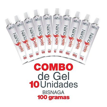 Gel Nanopele - Combo 10 Unidades  100g. - Pressure Hair