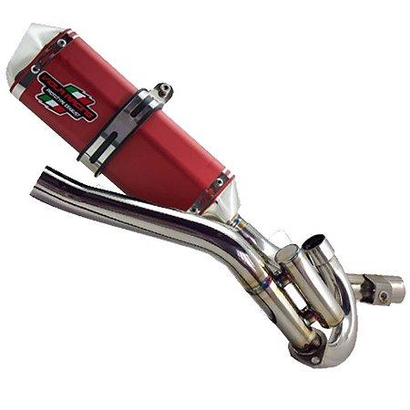 Escape completo Viola Racing MS1/EX para CRF230