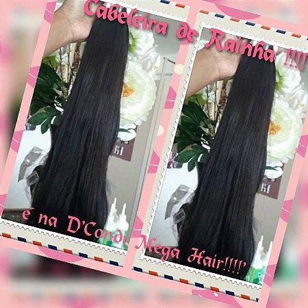 cabelo liso 65 cm indiano cada 100 gramas