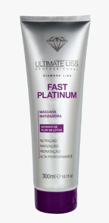 Máscara Fast Platinum 300ml