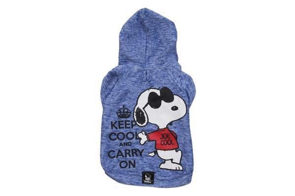 Moletom Azul Charlie Snoopy Keep Cool