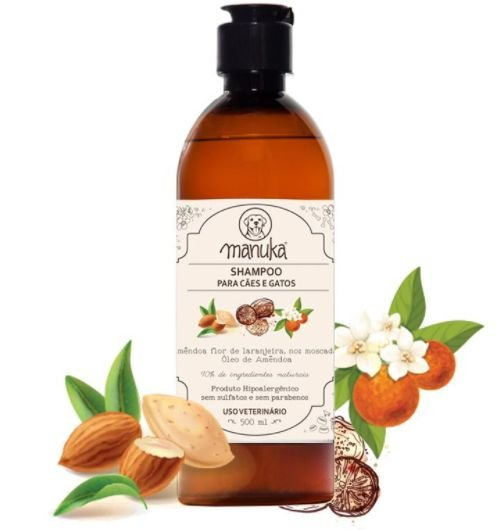 Shampoo Amêndoa  500ml
