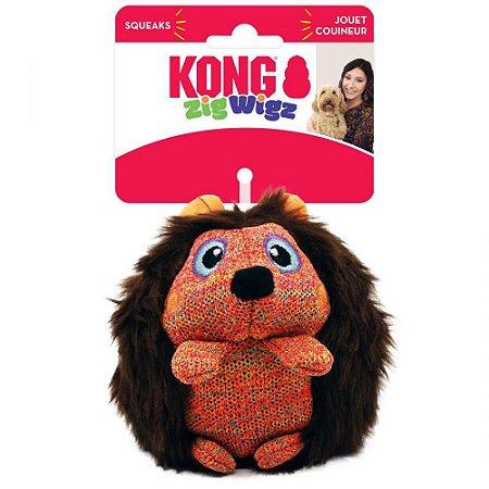 Kong Zigwigz Hedgehog Medium
