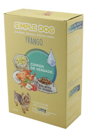 Simple Dog Frango - Alimentação Natural Desidratada