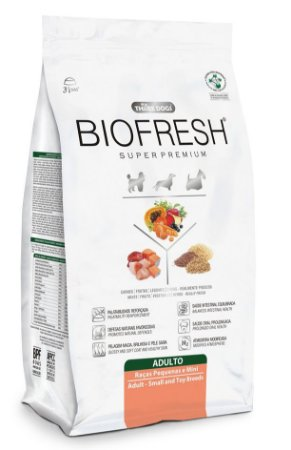 Biofresh Adulto Raças Peq. e Mini 12Kg