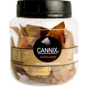 Cannix  Orelha Suína Mini - Pote 250gr