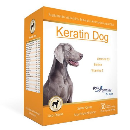 Keratin Dog - 30 tabletes