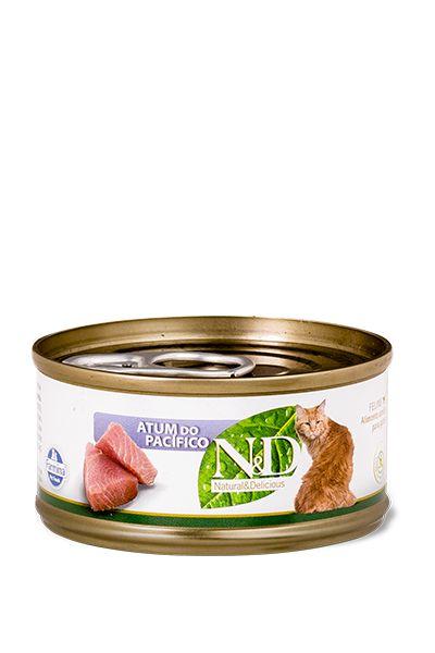 N&D Feline Úmido Atum do Pacífico