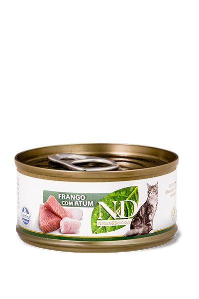 N&D Feline Úmido Frango com Atum