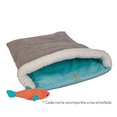 Cat Bag Areia/Tiffany