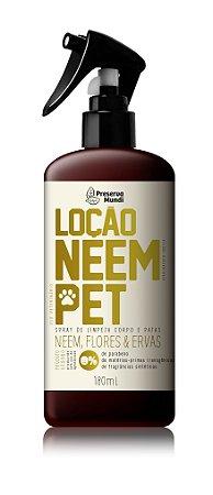 Loção Neem Pet - Neem, Flores & Ervas 180ml