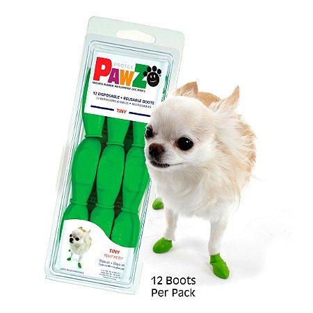 Botas Para Cachorros Pawz Tiny Verde