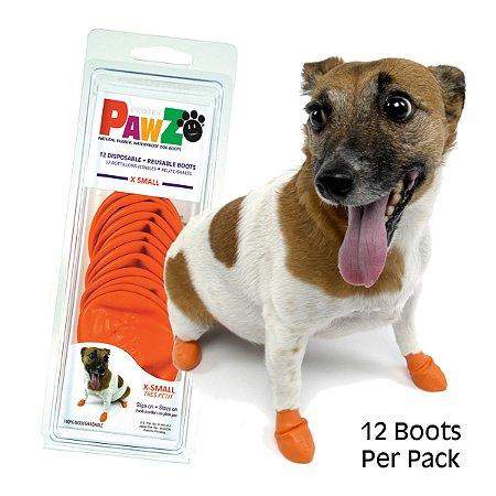 Botas Para Cachorros Pawz X Small Laranja