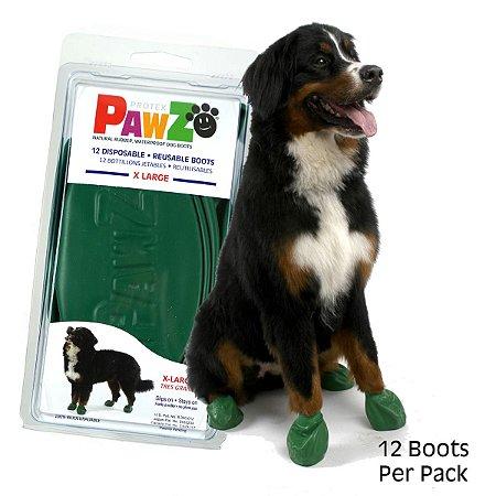 Botas Para Cachorros Pawz X-Large Preto