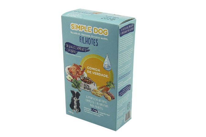 Simple Dog Filhotes - Alimentação Natural Desidratada