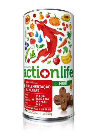 Snack Actionlife Fruit 200gr