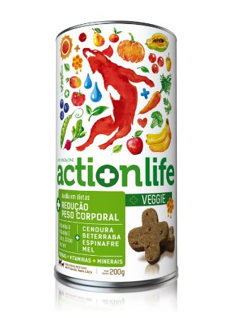 Snack Actionlife Veggie 200gr