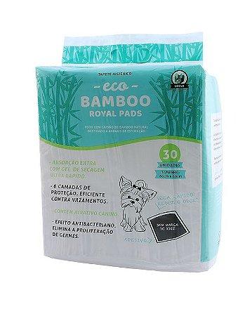 Tapete Higiênico Eco Bamboo 30 unid
