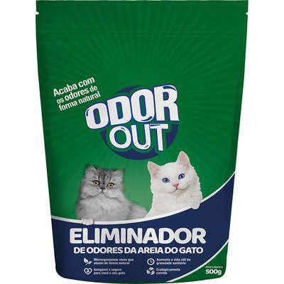 OdorOut Eliminador de Odores da Areia do Gato 500gr