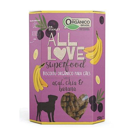Biscoito Orgânico  Açai, Chia e Banana 150gr