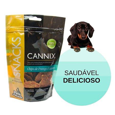 Cannix Chips Frango e Legumes 130gr