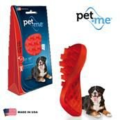 Escova Massageadora para Cães de Pelo Longo