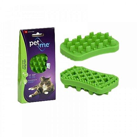 Escova Massageadora para Gatos Pelo Longo