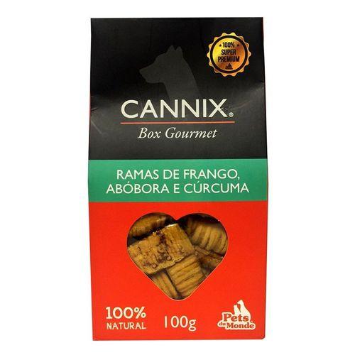 Cannix Mini Ramas Frango, Abóbora e Cúrcuma 100gr