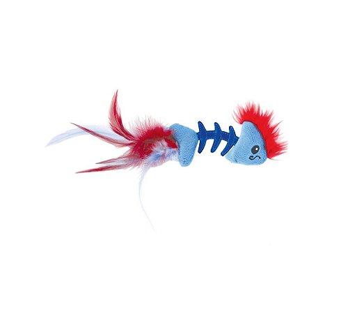 Espinha de Peixe com Plumas e Catnip