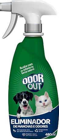 OdorOut  Eliminador de Mancha e  Odores 480ml