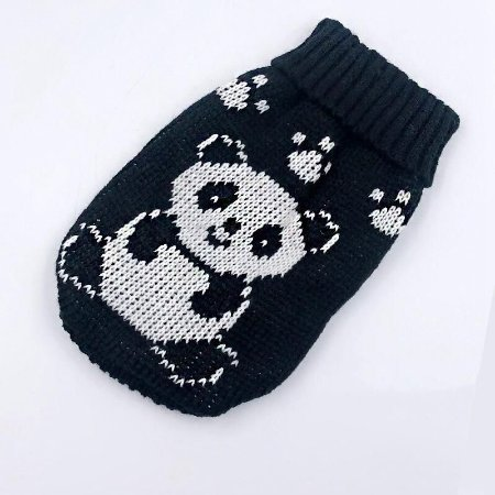 Sweater Black Panda