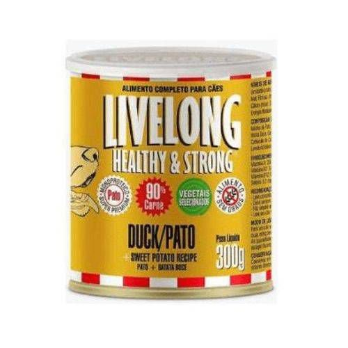 Livelong Pato 300gr (monoproteico)