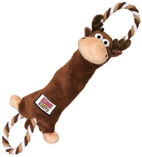 Kong Tugger Knots Moose Medium Large