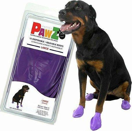 Botas Para Cachorros Pawz Large Roxa