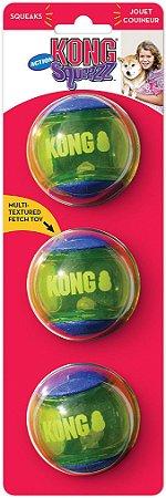 Kong Squeezz Action Ball Blue